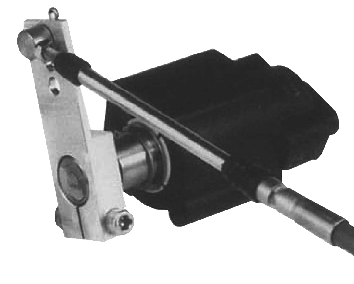 Remote Control Cable Lever : Lever operated electronic throttle control on